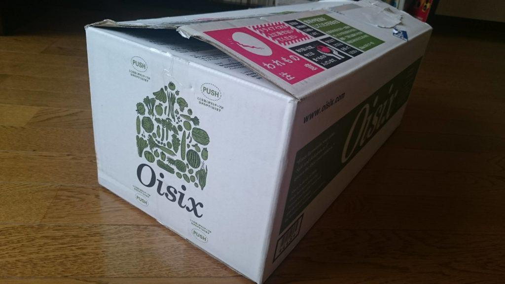 Oisixから届いた箱