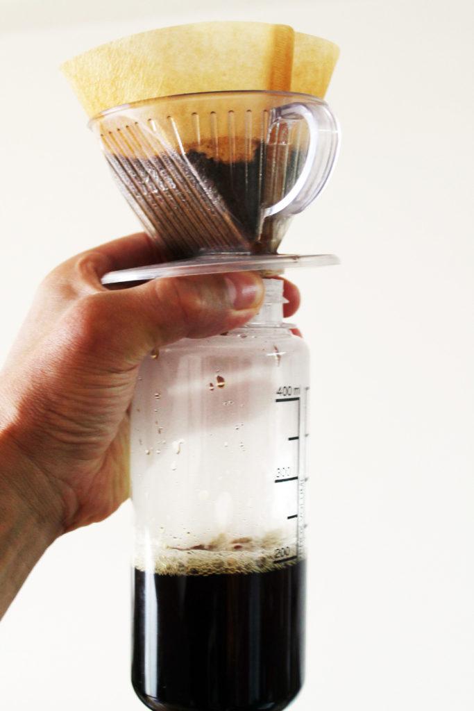 コーヒーの抽出にもぴったりサイズ